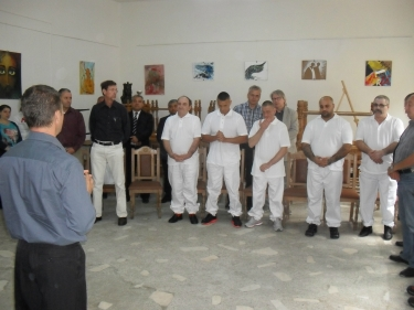 New Testamental Baptism in Aiud Prison